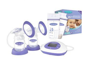 Lansinoh® 2-in-1 Double Electric Breast Pump& Lansinoh® Breastmilk Storage Bags