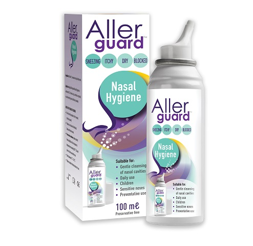 New nasal hygiene spray launched to help allergy sufferers
