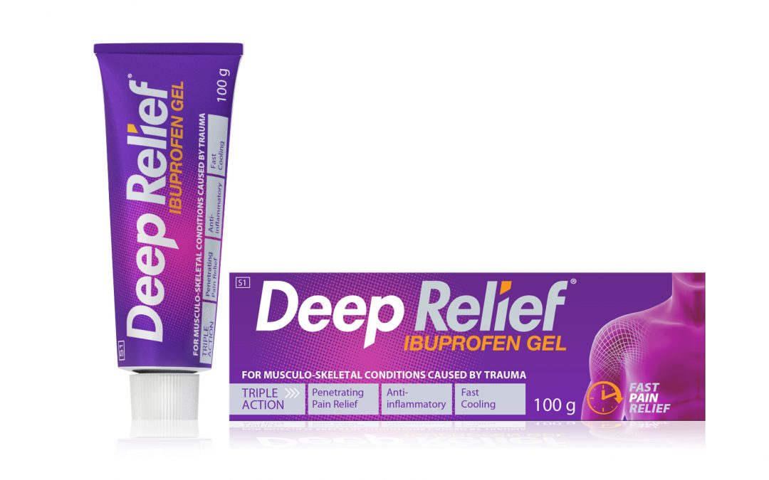 Deep Heat relaunch SA's only ibuprofen gel, Deep Relief