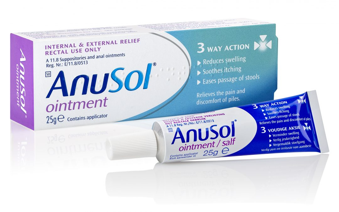 Anusol™ Ointment for internal and external piles